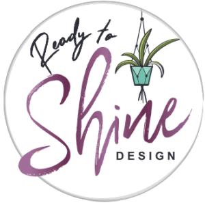 Ready to Shine Design Logo